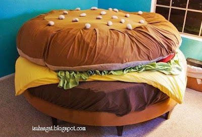 gambar burger @ isu hangat