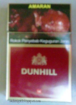 rokok dunhill @ isuhangat