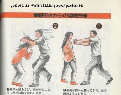 Self defence for ladies @ hot pictures
