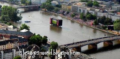 biggest tv @ strange world