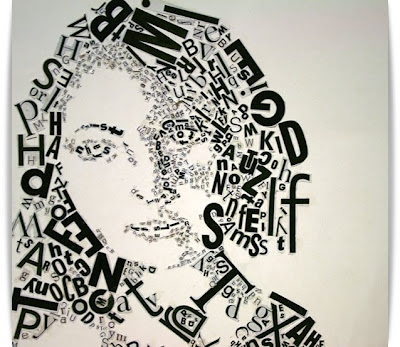 Typographic Portraits @ hot pictures collection