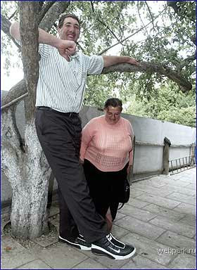 the biggest man in the world from Ukraine 2.57m @ strange pictures