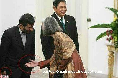 presiden Iran Ahmadinejad