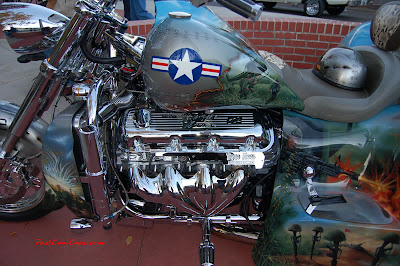 MOTORCYCLE PAINT JOB @ auto world show