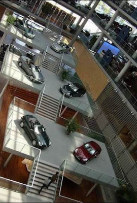 Mercedes Showroom @ auto show