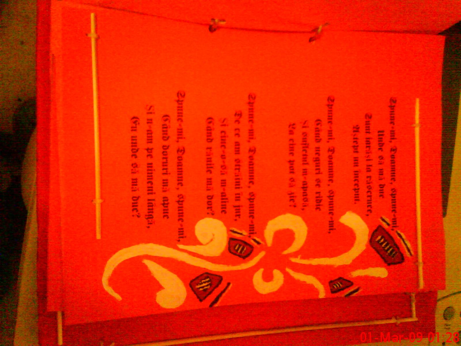 """handmade-simphony: """"CARTEA DE SUFLET""""-Album de poezii ne ..."""