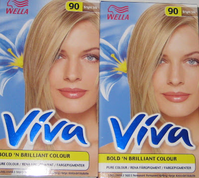 wella viva hårfärg
