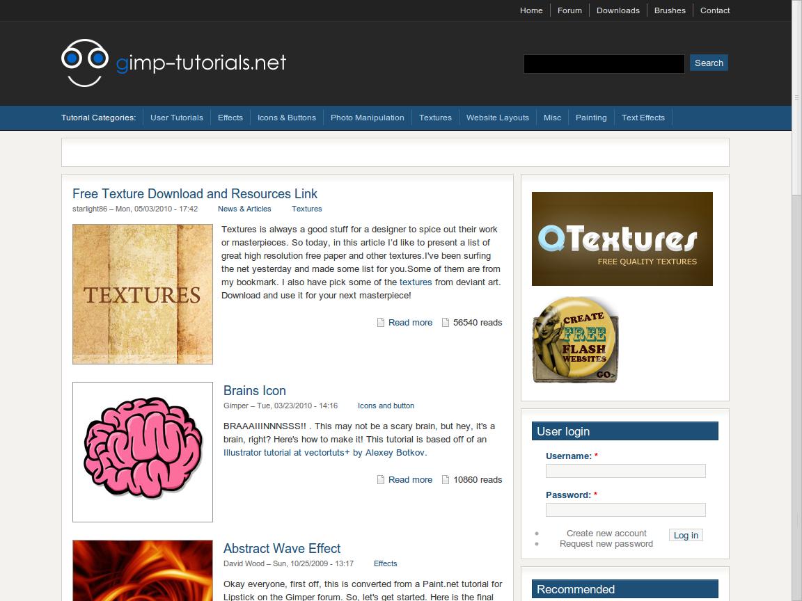 cLomoe bLog: Situs Tempat Belajar GIMP