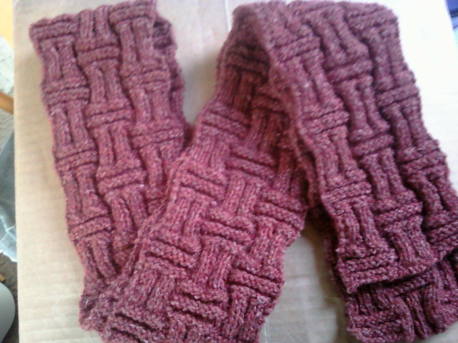 Knitting Pattern Bacon Scarf : Bacon and Eggs : Seed Starting and Hand-Knit Scarf