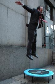 Et lille teater-hop, ikke selvmord