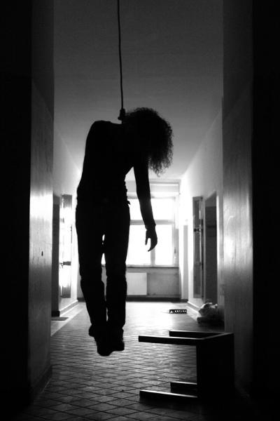 Selvmord, hængning