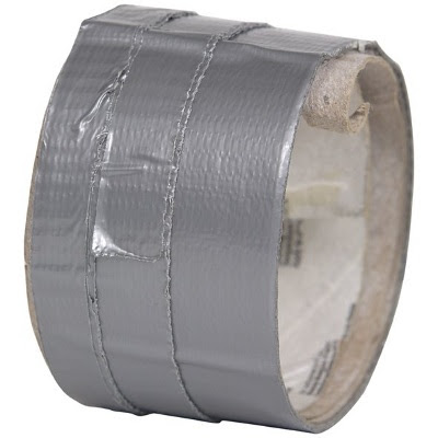 Gaffa-tape, brugt rulle