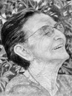 Let gammel kvinde