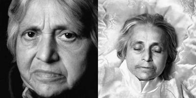 Gerda Strech før og efter døden