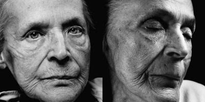 Klara Behrens før og efter døden