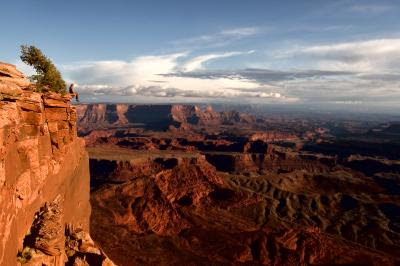 Grand Canyon view at Dead Horse Point, Utah