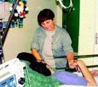 Vincent Humbert indlagt på hospitalet