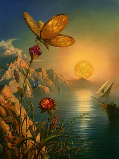 Treasure Island by Vladimir Kush
