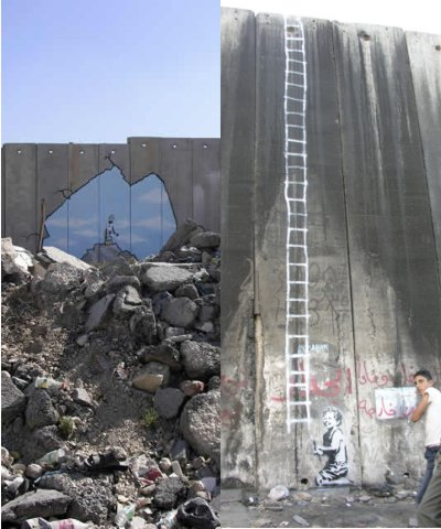 Slip mig fri (Banksy)
