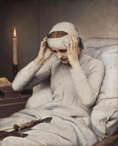 Forløsende lidelse? -- The Ecstatic Virgin Anna Katharina Emmerich by Gabriel Cornelius Ritter von Max