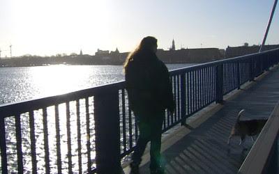 Susanne Lund over broen