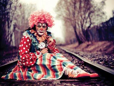 Den triste cirkus klovn