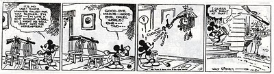 Mickey Mouse attempts suicide
