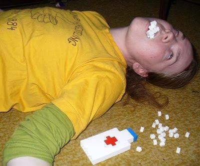 Overdosis af Lego klodser