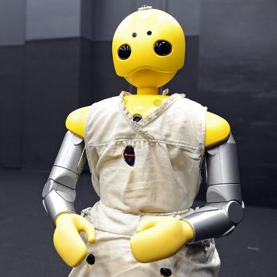 Robot prototype som 'skuespiller'