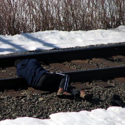 Jernbane selvmord