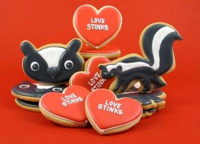 Valentine sukkerkager, 'Love Stinks'