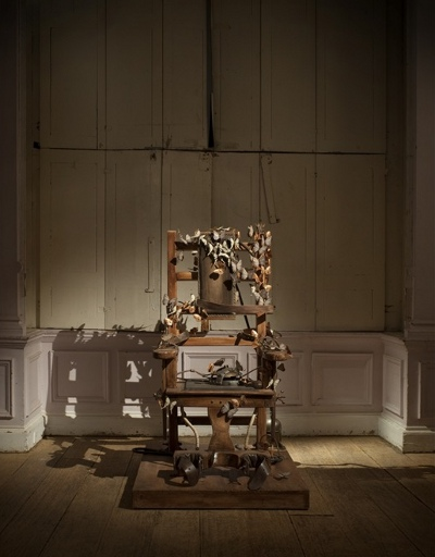 Bertozzi & Casoni - Electric Chair with Butterflies