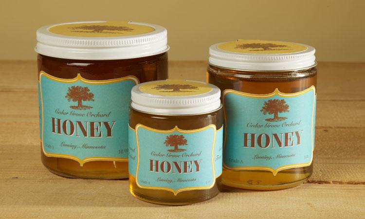 distinctively crafted: Honey Jar Labels
