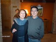 Con mi querida y admirada Rosa Regás