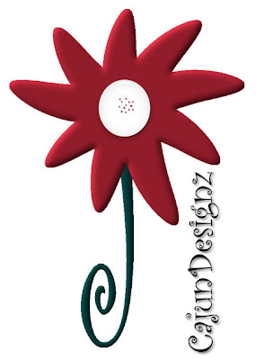 http://cajundesignscrapz.blogspot.com/2009/07/red-doodle-flower.html