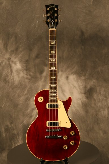 [gibson+les+paul+deluxe+78+red+wine+Whole]