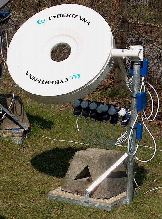 Установка спутниковых антенн своими рукам