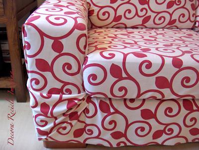 Decora recicla imagina antes y despu s en 3 minutos - Como hacer fundas de sofa paso a paso ...