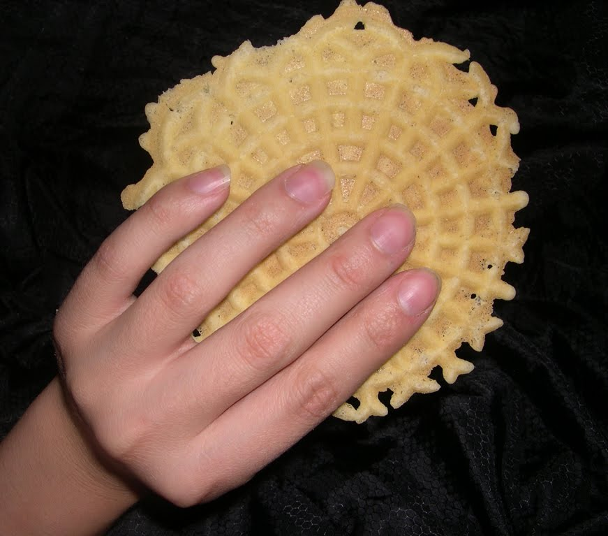 At The Table With Doris Italian Market Pizzelle Cookies