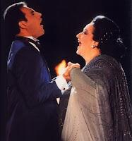 Freddie Mercury e Montserrat Caballé