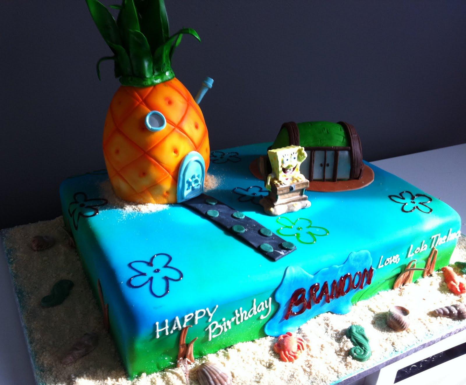 Cake Spongebob Cake Spongbob Squarepants Themed Party Ideas That