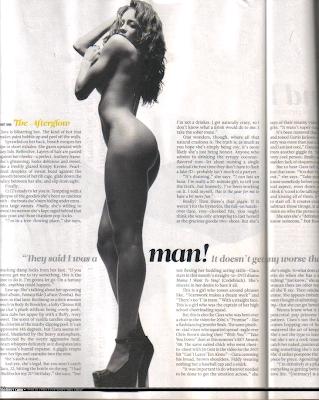 c3 Ciara's Full Vibe Magazine Naked Spread