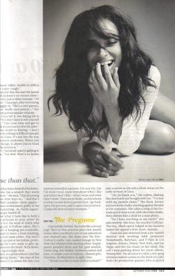 c4 Ciara's Full Vibe Magazine Naked Spread