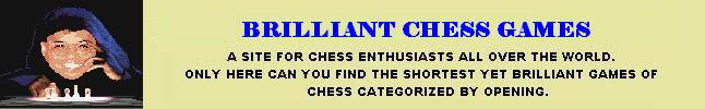 Brilliant Chess Games