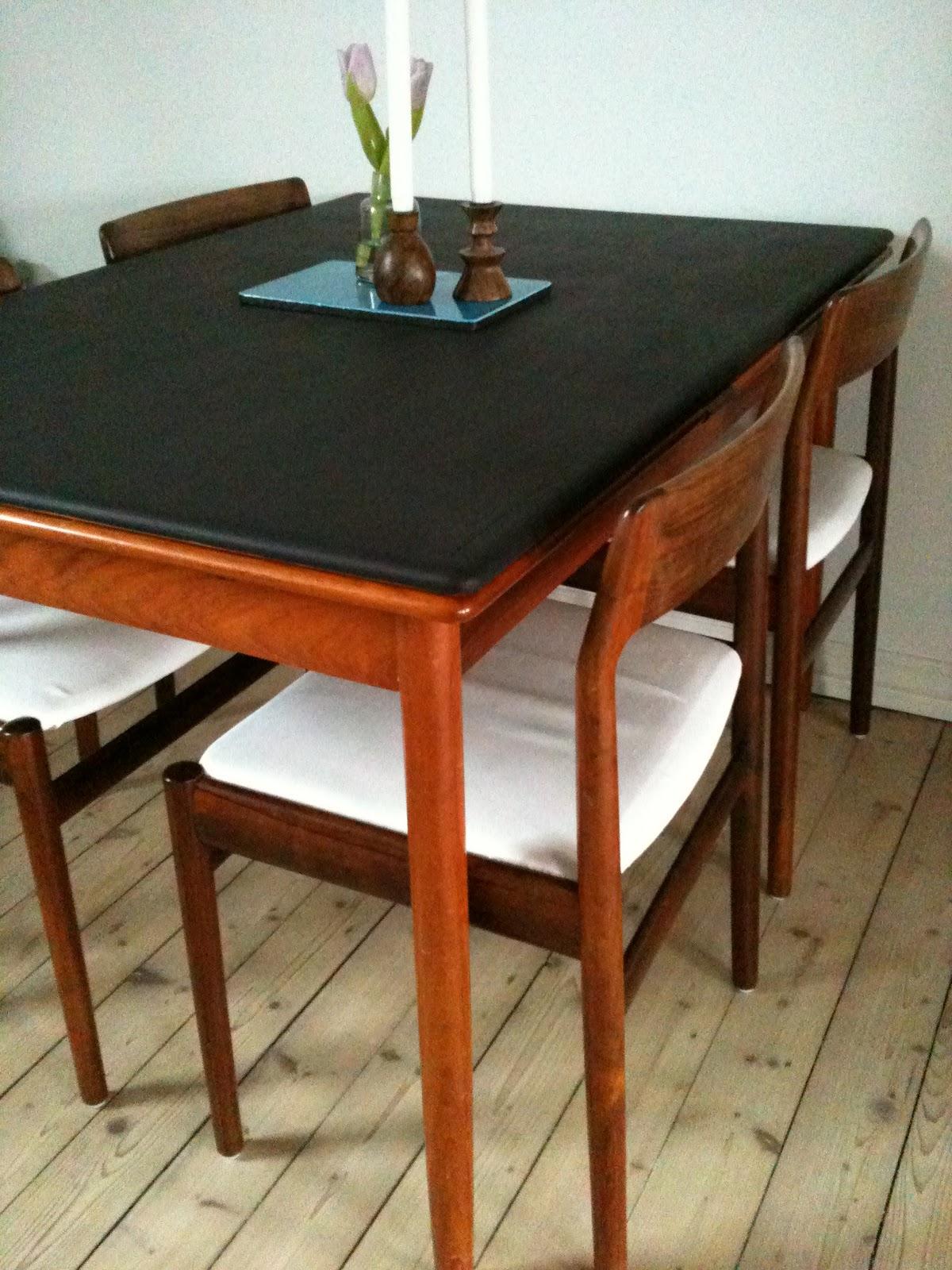 Patchwork - Passionista: Nyt gammelt spisebord