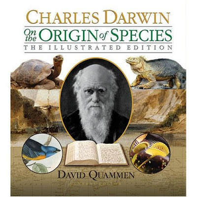 David Quammens new version of Darwins Origin of Species, illustrated