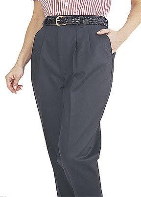 pleated dress pants for women - Pi Pants