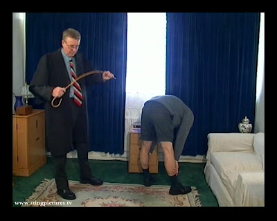 Jock Spank: Sting: Paul gets the cane (Part 1)