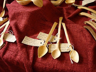 spoon making hennock house