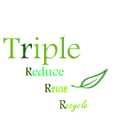 "I created this logo ""Triple R"" to give a message to everyone, which we need ."
